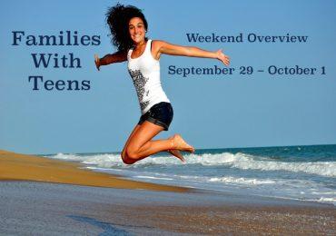 Weekend Overview September 29 – October 1