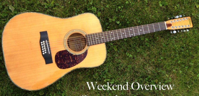 Weekend Overview September 22-24